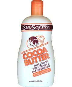 Sta Sof Fro Cocoa Butter Vitamin E Sunscreen Lotion