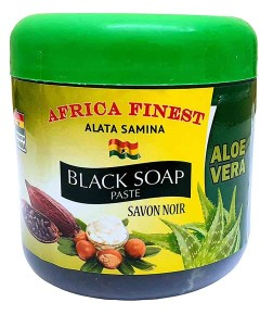 Africa Finest Aloe Vera Black Soap Paste
