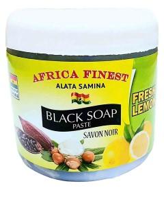Africa Finest Fresh Lemon Black Soap Paste