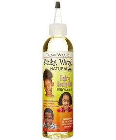 Kinky Wavy Natural Hair And Scalp Oil With Vitamin E