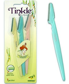 Tinkle Eyebrow Razor 3Pc Set
