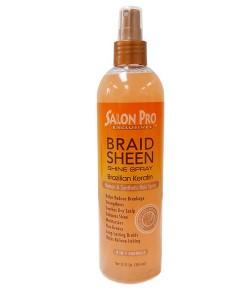 Salon Pro Exclusives Brazilian Keratin Braid Sheen Shine Spray