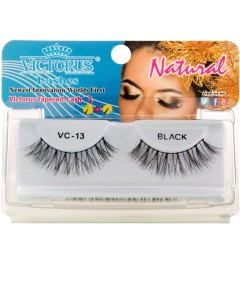Natural VC13 Black Lashes