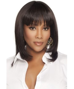 Pure Stretch Cap H 202 V Human Hair Wig