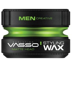 Vasso Matte Head Styling Wax