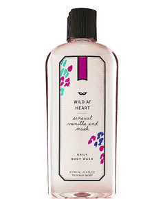 Wild at Heart Sensual Vanilla and Musk Daily Body Wash