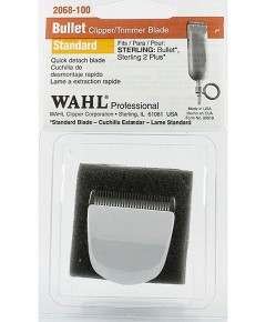 Wahl Bullet Clipper Trimmer Sterling 2 Plus Blade White
