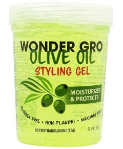 Wonder Gro Olive Oil Styling Gel
