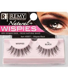 Remy Natural Lashes Wispies 71