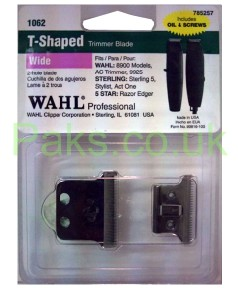 Wahl T Shaped Trimmer Blade 1062