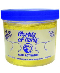 Worlds Of Curls Curl Activator Gel