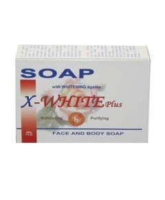 X Plus Face And Body Soap With Agent