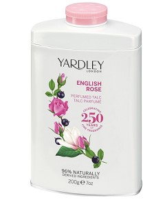 English Rose Perfumed Talc