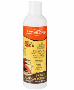 Acti Force Black Castor Oil Co Wash