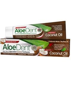 Aloe Dent Aloe Vera Triple Action Coconut Toothpaste