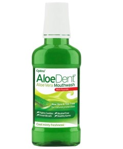 Aloe Dent Aloe Vera Mouthwash With Fluoride