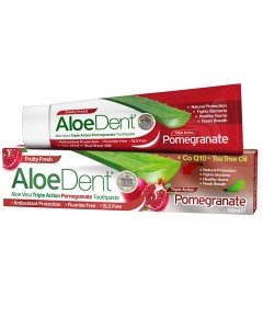 Aloe Dent Triple Action Pomegranate Toothpaste