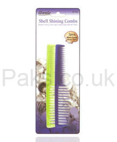 Annie Shell Shining Combs Set 134