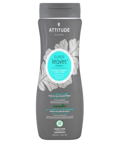Super Leaves Science Natural 2 In 1 Shampoo And Body Wash