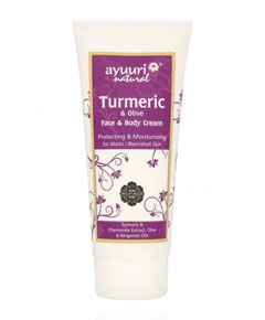 Ayumi Naturals Turmeric And Olive Face And Body Cream