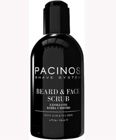 Pacinos Shave System Beard And Face Scrub