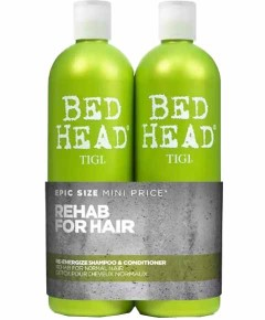 Bed Head Urban Anti Dotes Re Energize Teen Duo Shampoo And Conditioner