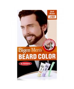 Mens Beard Colour
