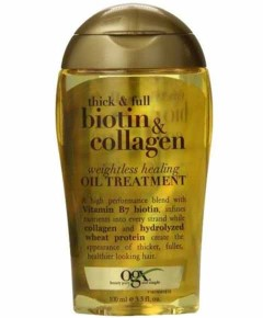 Thick And Full Biotin And Collagen Weightless Healing Oil Treatment