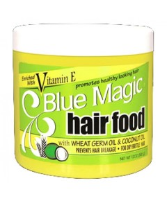 Blue Magic Hair Food with Wheat and Coconut Oil