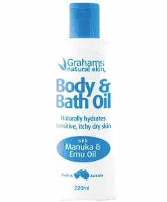 Body And Bath Oil With Manuka And Emu Oil