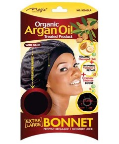 Magic Collection Organic Argan Oil Treated Product Bonnet 3004