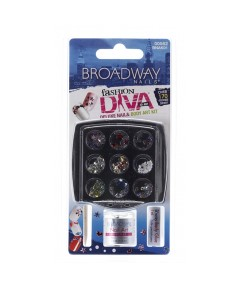 Broadway Deluxe Nail And Body Art Kit