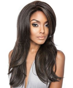 Brown Sugar BSF01 Frontal Lace Human Hair Stylemix