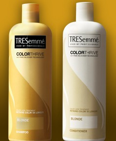 TRESemme Color Thrive (Blond Shampoo Conditioner) MP