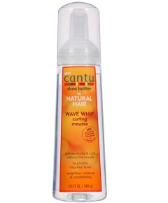 Cantu Shea Butter Natural Hair Wave Whip Curling Mousse