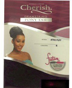 Cherish Drawstring Syn Afro Puff Ponytail