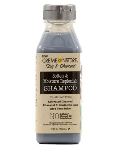 Clay And Charcoal Soften And Moisture Replenish Shampoo