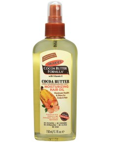 Cocoa Butter Formula Moisturizing Hair Oil