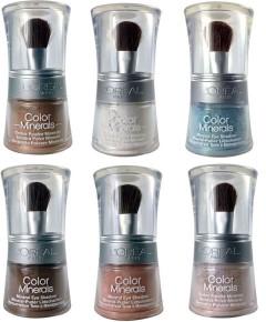 Loreal Color Minerals Eyeshadow