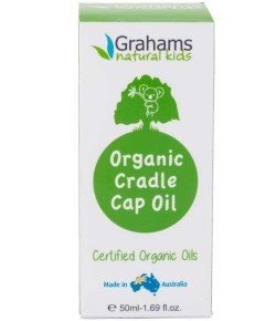 Kids Organic Cradle Cap Oil