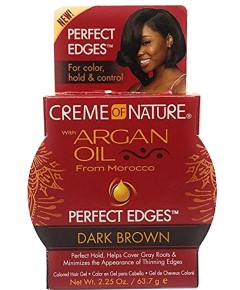 Argan Oil Perfect Edges Dark Brown Gel