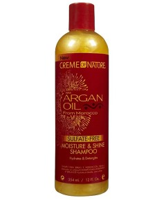 Argan Oil Sulfate Free Moisture And Shine Shampoo
