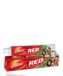 Red Paste For Teeth And Gums