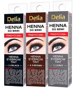 Delia Cosmetics Henna Eyebrow Tint Powder