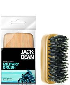 Jack Dean Gentlemens Military Brush Wooden JDMB55