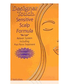 Designer Touch Sensitive Scalp Formula No Lye Relaxer System