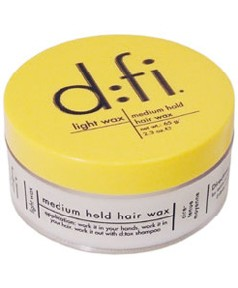 Dfi Light Wax Medium Hold Hair With A Bit Of Imagination You Can Get Flexible And Low Shine Hairstyle By Using The D Fi