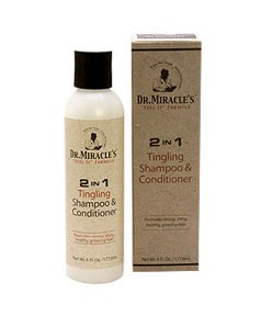 Dr.Miracles 2 in 1 Tingling Shampoo n Conditioner
