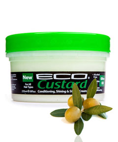 Eco Custard Styling Cream Olive Oil