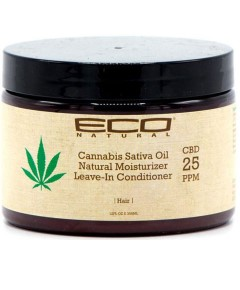 Eco Natural Cannabis Sativa Oil Leave In Conditioner